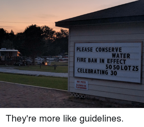 More Like Guidelines