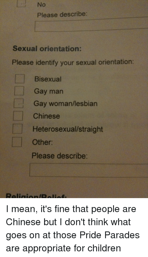 Funny sexual orientation