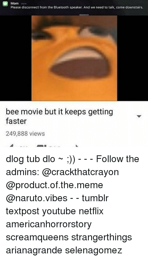 The entire bee movie but it keeps getting faster
