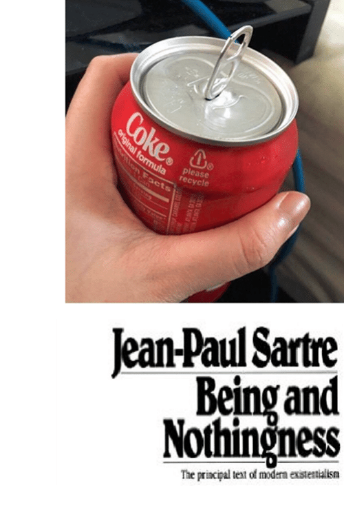 Principal, Text, and Non Existent Existentialist: please  Jean-Paul Sartre  Being an  Nothingness  The principal text of modern estettialism