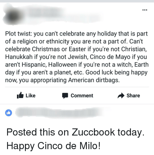christmas easter and halloween plot twist you cant celebrate any - Do Jewish Celebrate Christmas