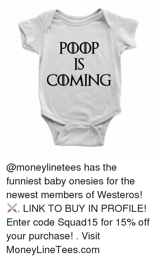 1e4dedaea40b POD DPP CDMING Has the Funniest Baby Onesies for the Newest Members ...