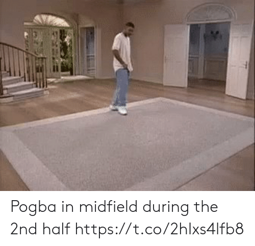 Soccer, Pogba, and The: Pogba in midfield during the 2nd half https://t.co/2hIxs4lfb8