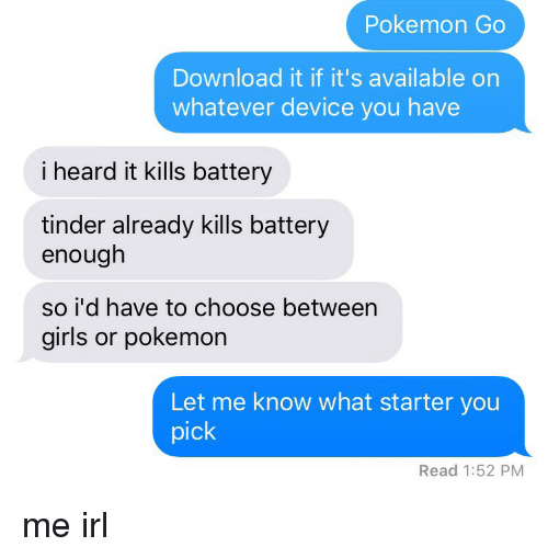 Pokemon Go Download It if It's Available on Whatever Device