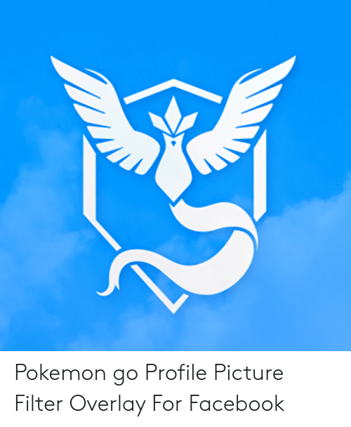Pokemon Go Profile Picture Filter Overlay for Facebook