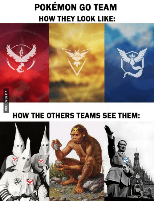 pokemon go team how they look like how the others 18047089 ✅ 25 best memes about pokemon go meme team pokemon go meme