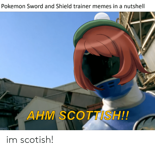 Pokemon Sword And Shield Trainer Memes In A Nutshell Ahm Scottish