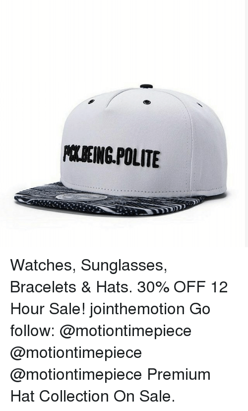 polbeing polite watches sunglasses bracelets hats 30 off 12 31466933 polbeing polite watches sunglasses bracelets & hats 30% off 12