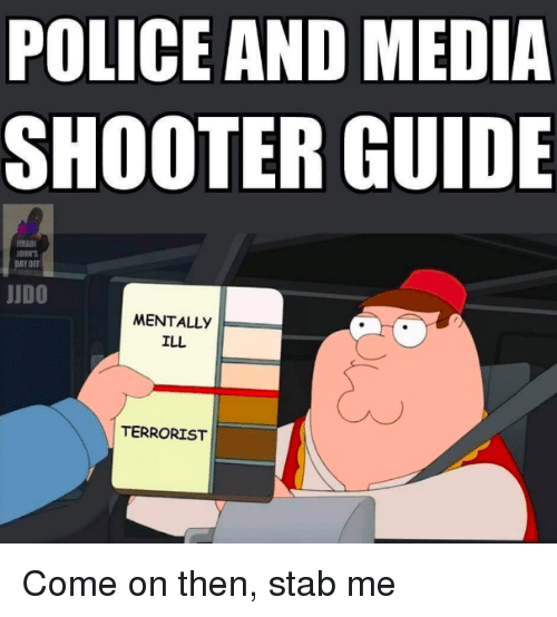 police and media shooter guide ohits judo mentally ill terrorist 2858053 police and media shooter guide ohits judo mentally ill terrorist
