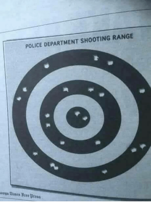 Police, Police Department, and Range: POLICE DEPARTMENT SHOOTING RANGE