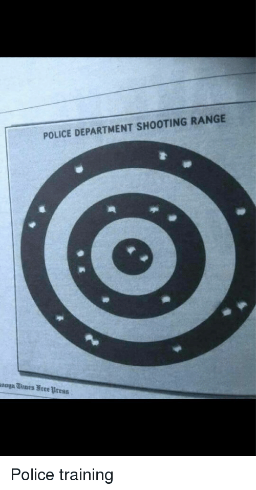 POLICE DEPARTMENT SHOOTING RANGE Police Training | Funny