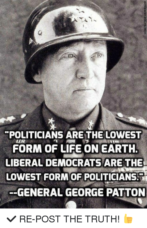 POLITICIANS ARE THE LOWEST FORM OF LIFE ON EARTH LIBERAL DEMOCRATS ...