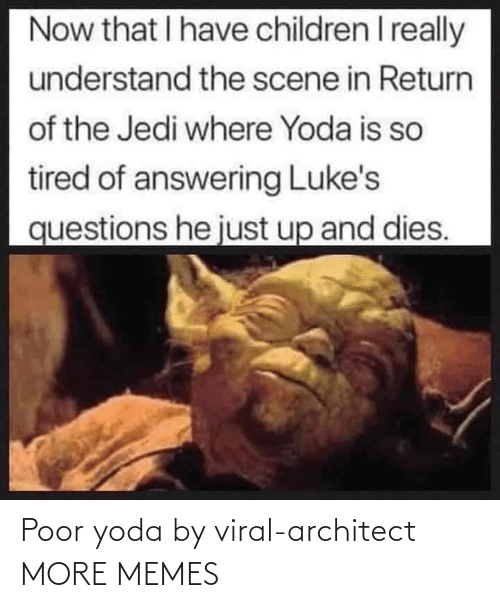 Dank, Memes, and Target: Poor yoda by viral-architect MORE MEMES