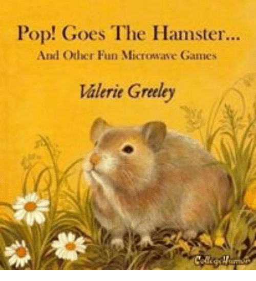 Pop! Goes the Hamster and Oher Fun Microwave Games Valerie