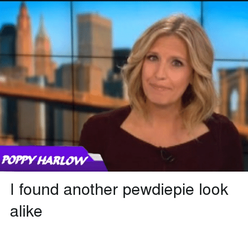 Poppy, Another, and Look: POPPY HARLOW