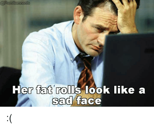 Faces sad people with
