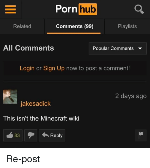 Minecraft Porn Hub And Porn Porn Hub Orn Related Comments 99