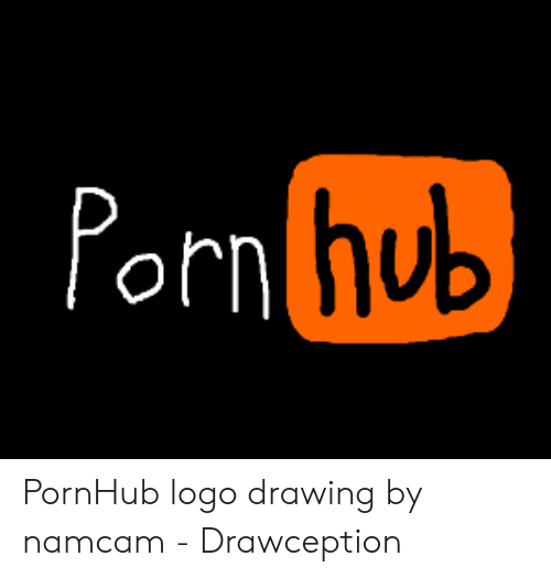 porn-hub-pornhub-logo-drawing-by-namcam-drawception-49325100