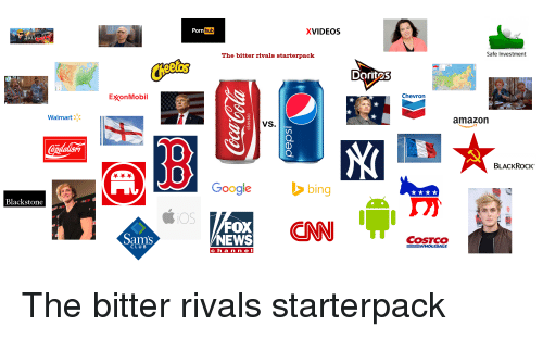 Porn Hub XVIDEOS AL the Bitter Rivals Starterpack Safe Investment