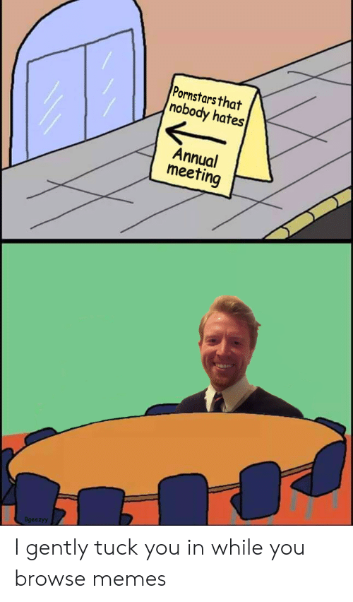 Memes, Pornstars, and You: Pornstars that  nobody hates  Annual  meeting /-  Bgeezyy I gently tuck you in while you browse memes
