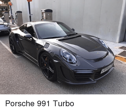 Porsche, Turbo, and Porsche 991: Porsche 991 Turbo