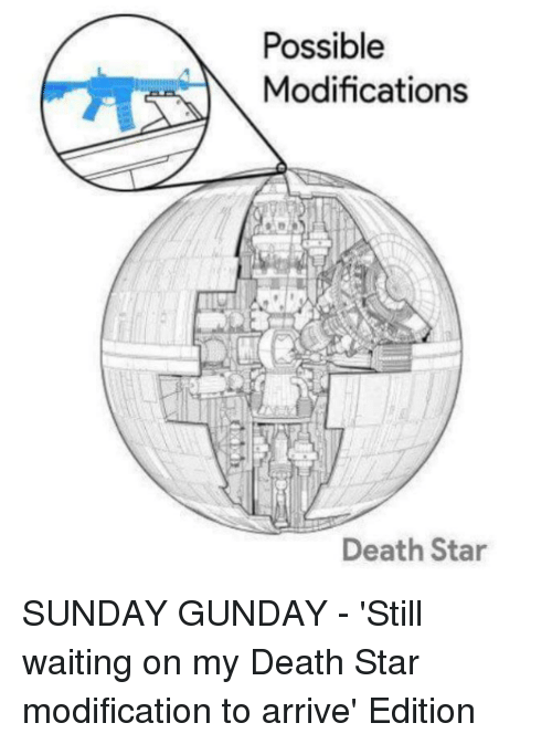 Death Star, Death, and Star: Possible  Modifications  Death Star