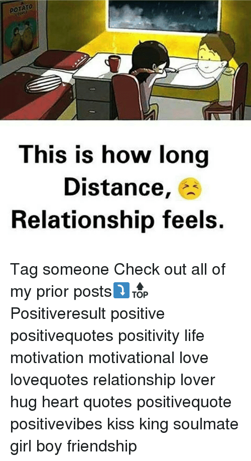 Potato This Is How Long Distance Relationship Feels Tag Someone