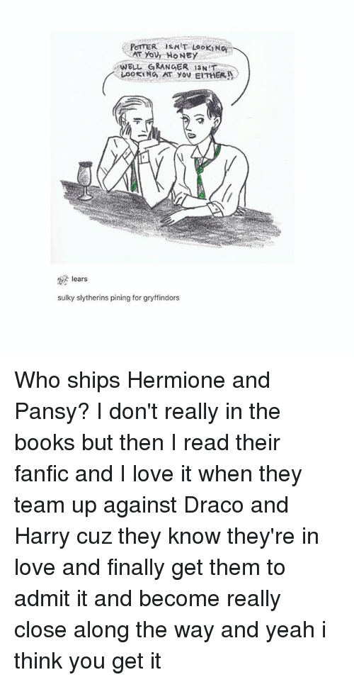 Harry And Hermione In Slytherin Fanfiction