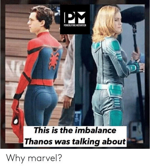 POWERLIFTING MOTIVATION This Is the Imbalance Thanos Was