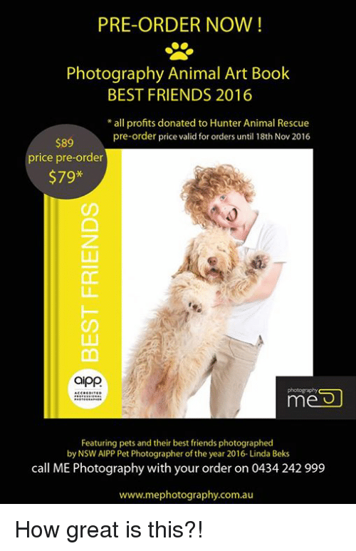 a324cf1e56fb0 Best Friend, Memes, and Photography: PRE-ORDER NOW! Photography Animal Art