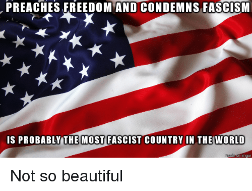 america the not so beautiful