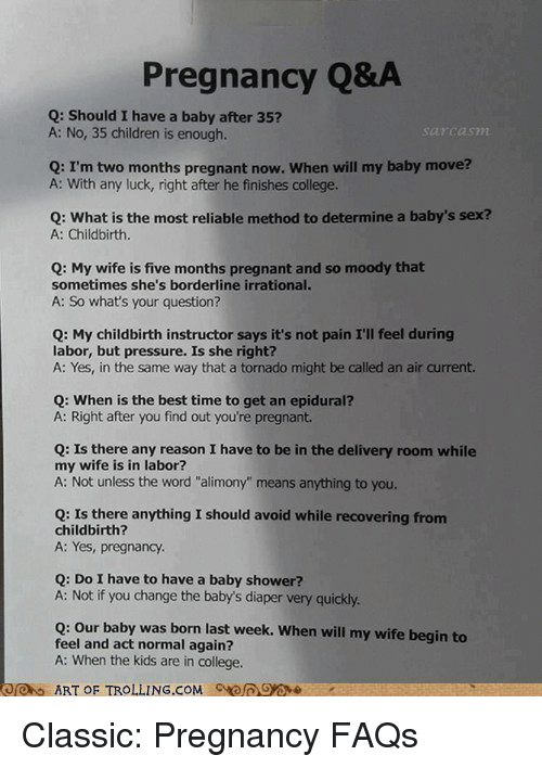Pregnancy Qa Q Should I Have A Baby After 35 A No 35 Children Is