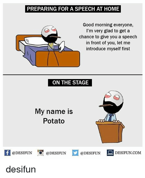 Good Morning Everybody My Name Is Trudy : Best memes about my name is potato