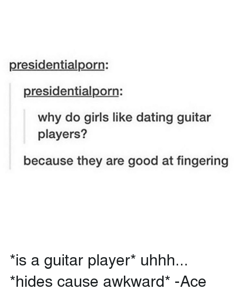 Dating a guitar player