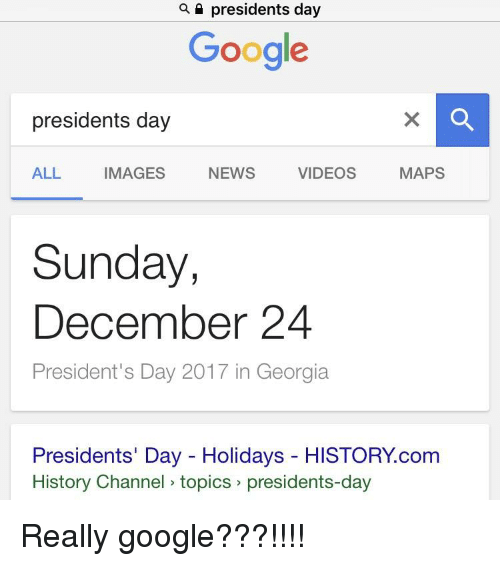 When Is President Day >> Presidents Day Google Presidents Day Maps Videos All Images