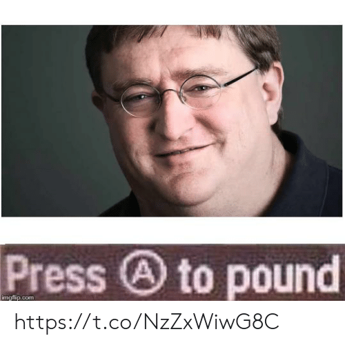 Com, Pound, and Press: Press to pound  imgflip.com https://t.co/NzZxWiwG8C