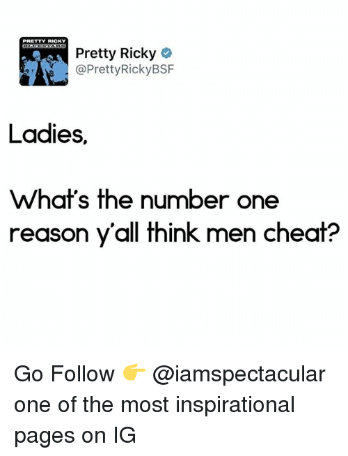 number one reason men cheat