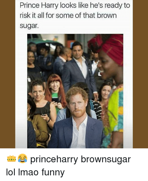 Prince Harry Looks Like He's Ready To Risk It All For Some