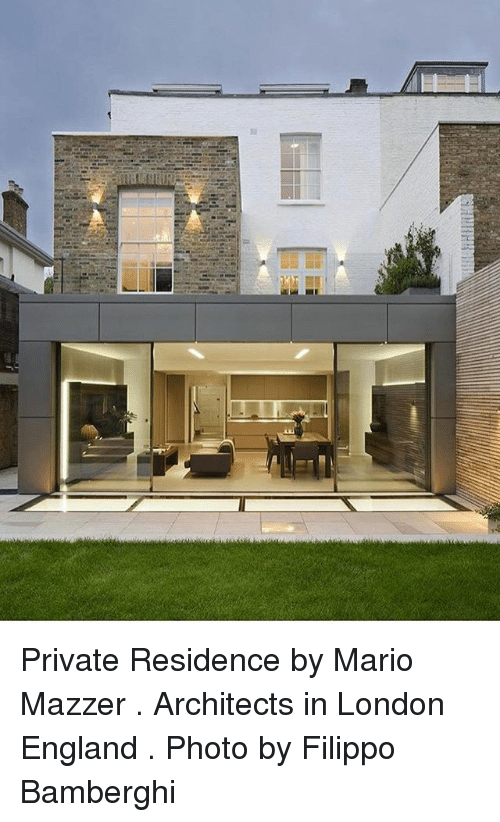 7227c15963c Private Residence by Mario Mazzer Architects in London England Photo ...