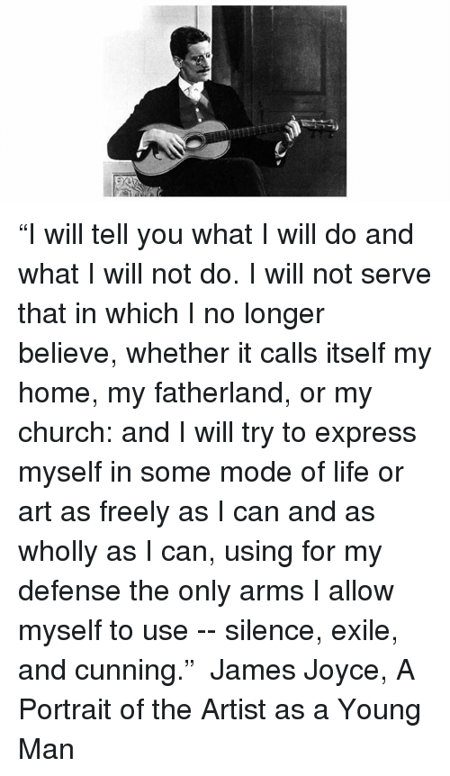 """Pro """"I Will Tell You What I Will Do and What I Will Not Do I"""
