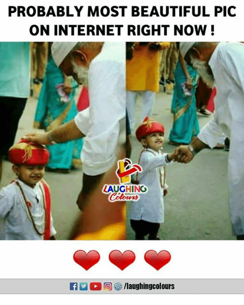 Beautiful, Internet, and Indianpeoplefacebook: PROBABLY MOST BEAUTIFUL PIC  ON INTERNET RIGHT NOW!  LAUGHING