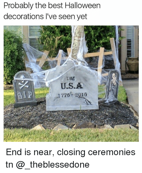 halloween best and girl memes probably the best halloween decorations ive - The Best Halloween Decorations