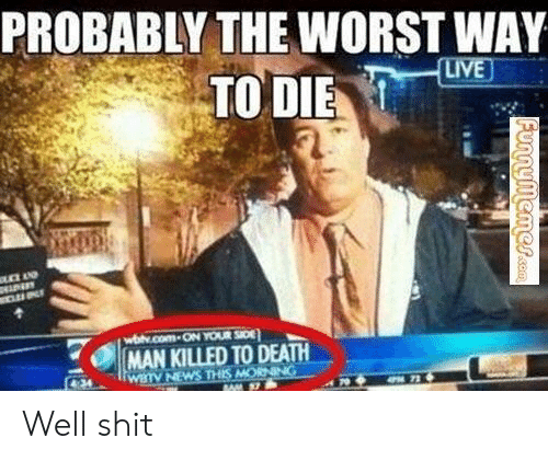 PROBABLY THE WORST WAY TO DIE |MAN KILLED TODEATH WBTV NEWS
