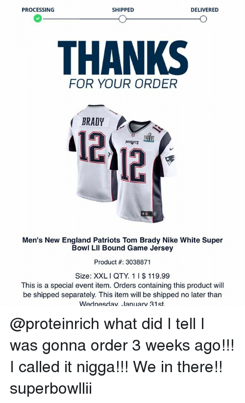 newest c5063 2c9e1 discount code for tom brady white super bowl jersey 961ac 66f8a