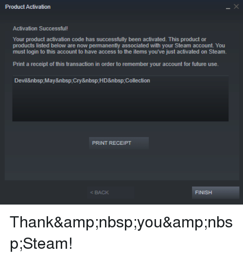 Steam activation code not working | activation key not