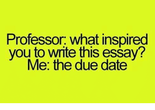 who inspires me essay