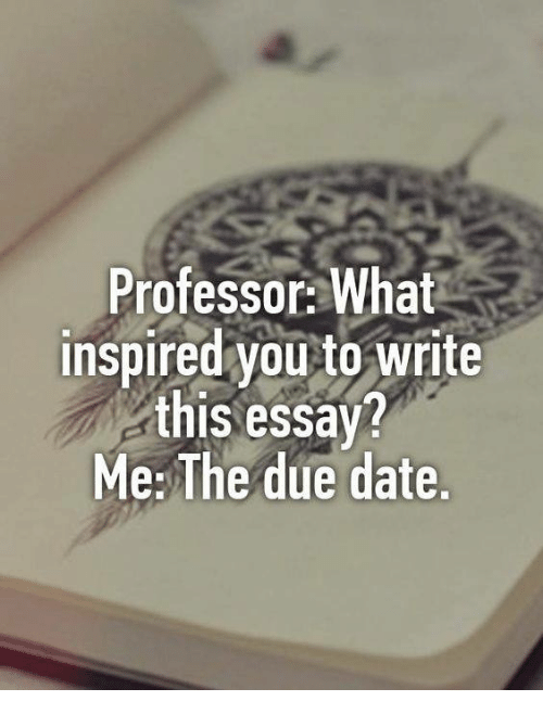 how to get inspired to write an essay