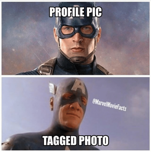 Memes, Tagged, and 🤖: PROFILE PIC  arvelMovie acts  TAGGED PHOTO
