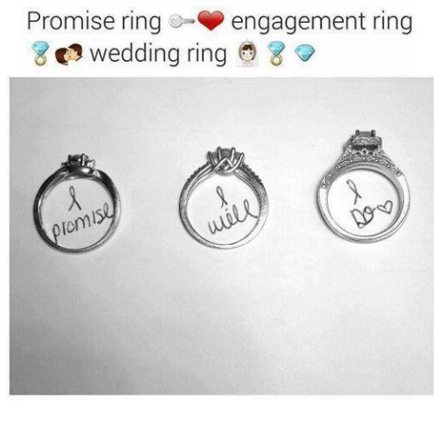 memes wedding and promise ring engagement ring wedding ring 8 tom - Difference Between Engagement And Wedding Rings