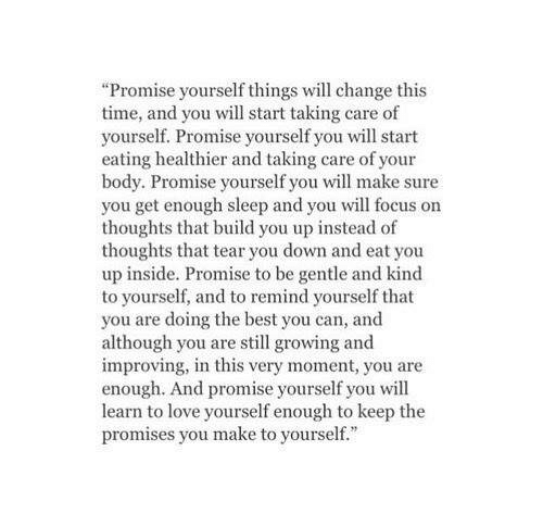 how to start taking care of yourself